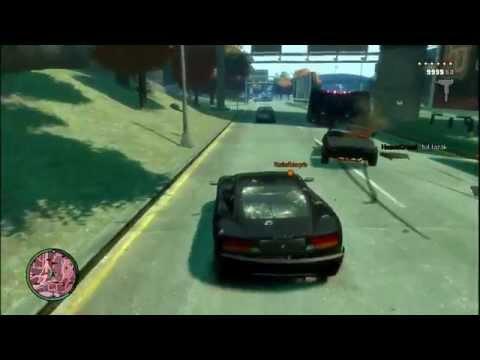 Mona Sax GTA-ban lazít