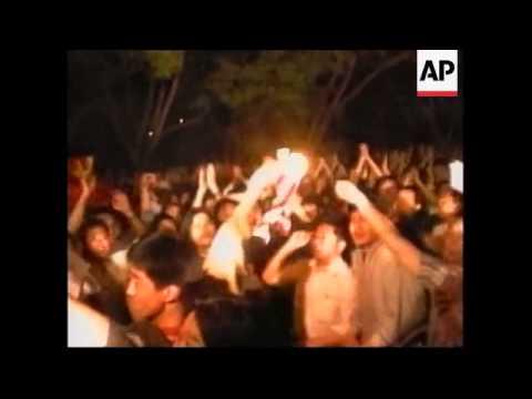 CHINA: YUGOSLAVIA: PROTEST AT US EMBASSY OVER NATO BOMBING