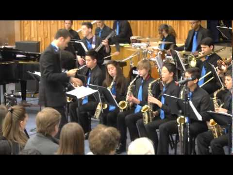El Camino Real Charter High school Jazz Band Spring Concert 2014