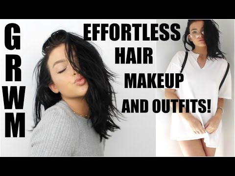 HOW TO LOOK CUTE WITH NO EFFORT!   Back to school GRWM