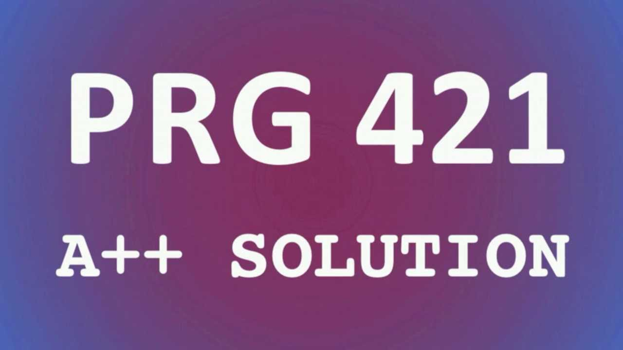 prg 421 week 2 program For more classes visit wwwprg421guidecom prg 421 week 2 individual arraylist program week 2 individual: arraylist program write a java program (non-gui preferred) to demonstrate the use of an arraylist.