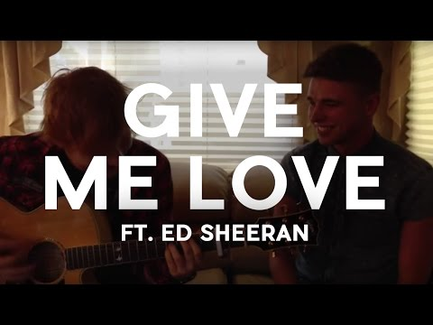 Ed Sheeran and Jordan O'Keefe -
