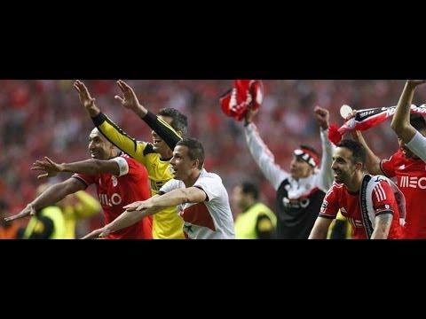 Benfica 2 0 Olhanense | Relato dos Golos (Antena 1) | Benfica Campeão