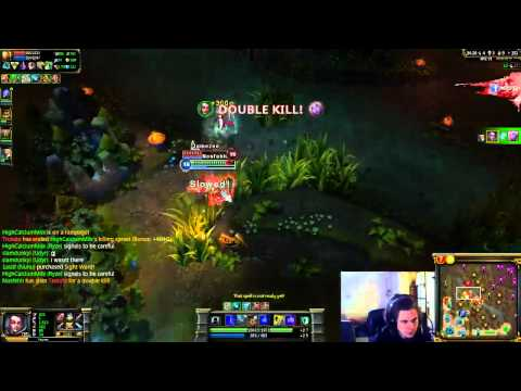 League Of Legends: Vayne PentaKill @ 1600 ELO