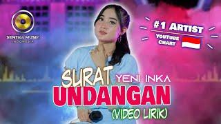 Download lagu Yeni Inka - Surat Undangan ( Video Lyrics)