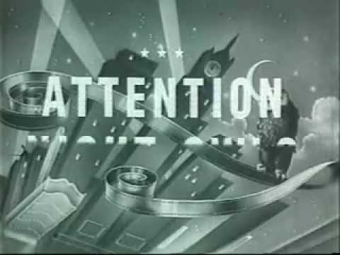 Drive-in theater vintage short films - late 50s, early 60s - intermission, refreshments- cartoons!