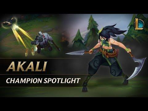 Akali Champion Spotlight   Gameplay - League of Legends