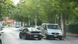 Porsche 997 Turbo Drives Off