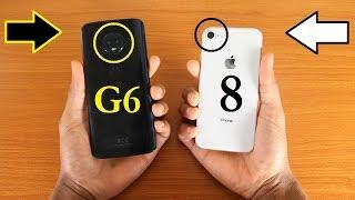 Moto G6 Vs iPhone 8 Camera Test + Autofocus