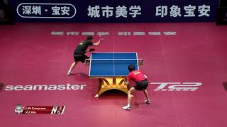 Xu Xin vs Lin Gaoyuan | 2019 ITTF China Open Highlights (1/2)