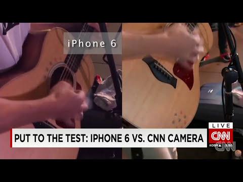 iPhone 6 camera vs. CNN camera