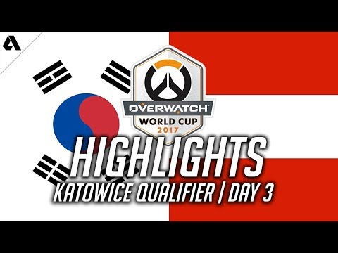 Overwatch Gameplay - How Many Team Kills Can Korea Get vs Austria ft. Flow3R | Overwatch World Cup