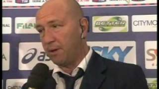 lecce catania 2-1 intervista variale zenga rai sport
