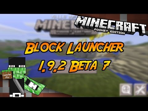 Block Launcher Pro 1.9.2 Beta 7 | Minecraft PE 0.11.0 Build 10 | (+Descarga)