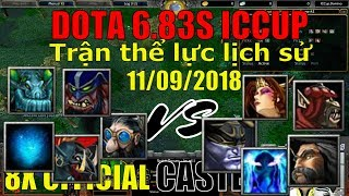 Dota Tour ICCUP Trận đấu thể lực lịch sử của dota