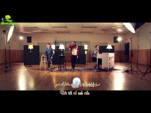[vietsub - Kara](mv) Beauty And A Beat  - ( Alex Goot, Kurt Schneider, And Chrissy Costanza Cover) video