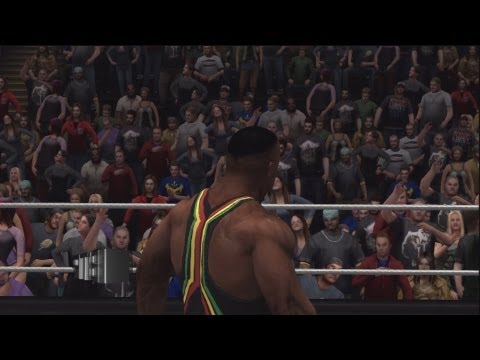 WWE 13 Big E Langston Debut Recreation Simulation