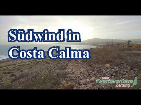 Südwind im Dezember in  Costa Calma - Fuerteventura