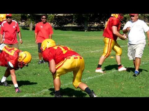 Whittier Christian High School Football Practice Whittier, CA - 09/11/2013
