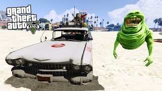 GTA 5 HAYALET AVCISI MODU / REALİSTİC GHOSTBUSTERS MODE