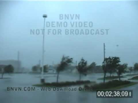 8/13/2004 Hurricane Charley Video. Punta Gorda, Florida - Part CC2