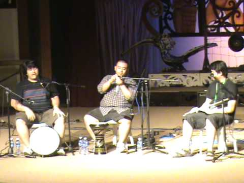 Rainforest World Music Festival-Day2 Workshop: Heartbeat Of South East Asia-Diplomats Of Drums