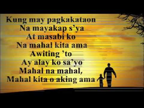 Aking Ama With Lyrics (dance With My Father) Tagalog Version - Cover Free Download video