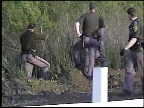 Armed Domestic Violence Suspect Gets Arrested While Hiding In A Creek ...