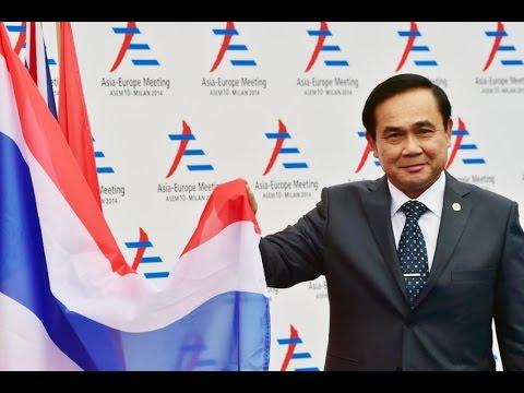 Prayuth Chan ocha Warns Reporters, Thai