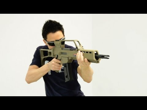 ARES AS36K AEG New Version Review (HD) - RWTV