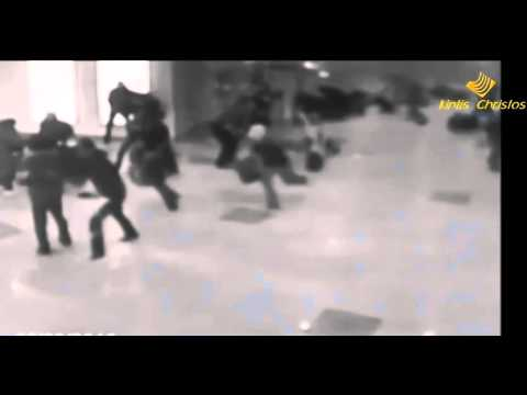 Explosions at Brussels Airport and Subway  CCTV