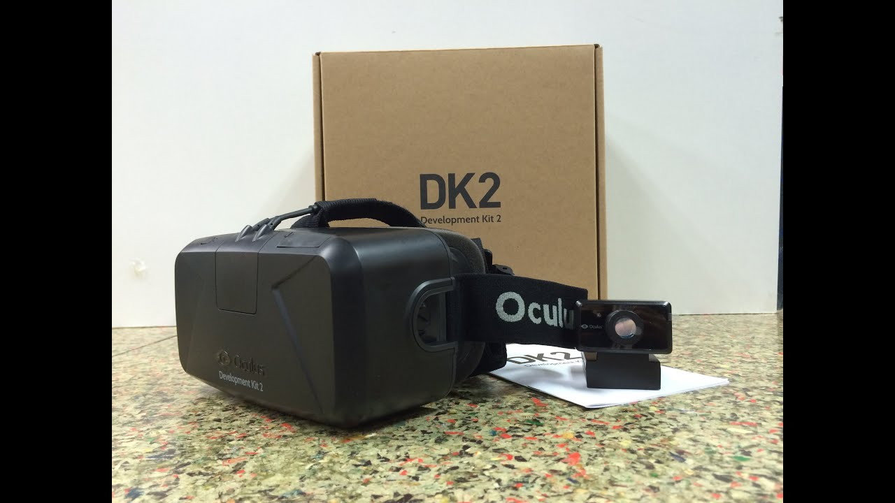 Unboxing: แกะกล่อง Oculus Rift DK2 - YouTube