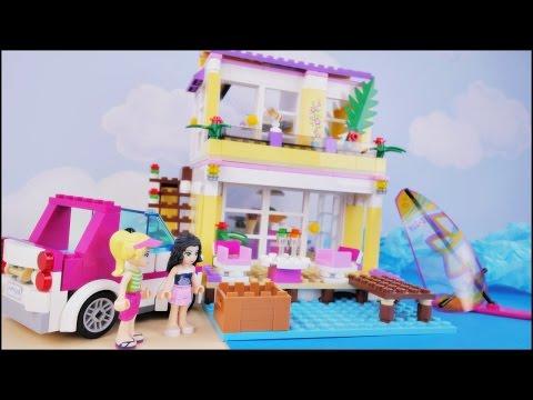Majówka i najgorszy dzień w życiu - Bajka po polsku z klockami Lego Friends odc.66