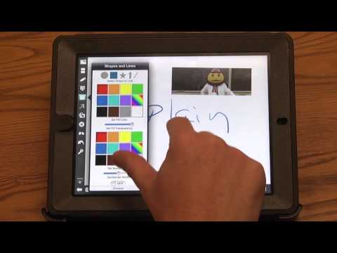 Explain Everything iPad app tutorial