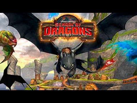 Школа Драконов School of Dragons #1 Знакомство, первые уроки и приключения Игровой видео обзор