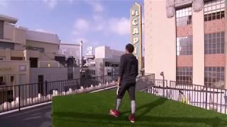 Thử thách với Neymar Jr: Đứng cách 2 tòa nhà sút bóng vào lưới - Cái kết đáng kinh ngạc