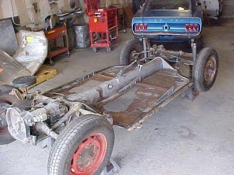 Volkswagen Floor Pan Replacement From Start To Finish