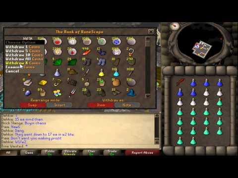 Runescape 2007: Phoxine's Bandits Guide for 1 Defence Pures *PATCHED*