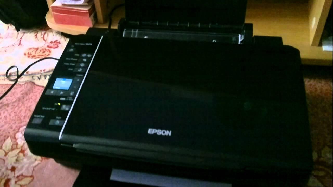 mon Epson stylus sx 215 - YouTube