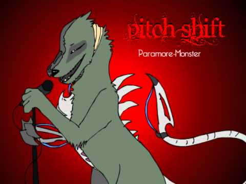.:pitch Shift:.paramore-monster [male] video