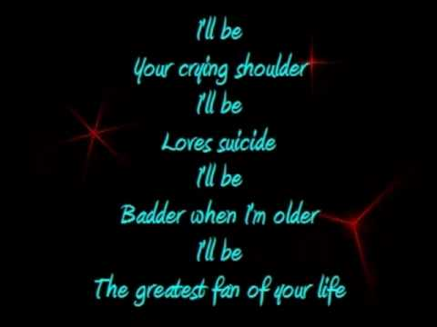 I'll Be Your Crying Shoulder Lyrics video