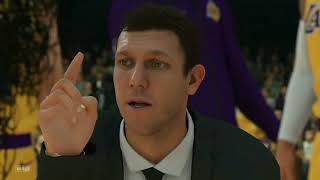 Lakers vs suns 3rd & 4th half ( Lakers showing the suns the smack Down)