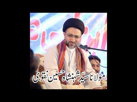 علامہ سید شہنشاہ حسین نقوی کا عوام الناس کو پیغام