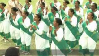 Qetena 2 Mulu Wongel Church Shebesheba Choirs - Arehu (YeKeber Negus Yegba)