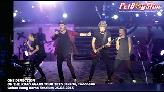 One Direction Video - 1D ONE DIRECTION OTRA FULL THE DAY ZAYN LEAVE Jakarta, Indonesia 2015