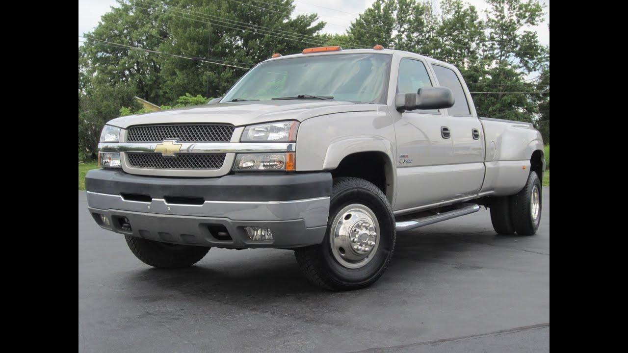 3500 silverado duramax 2004 diesel 4x4 chevrolet ls sold