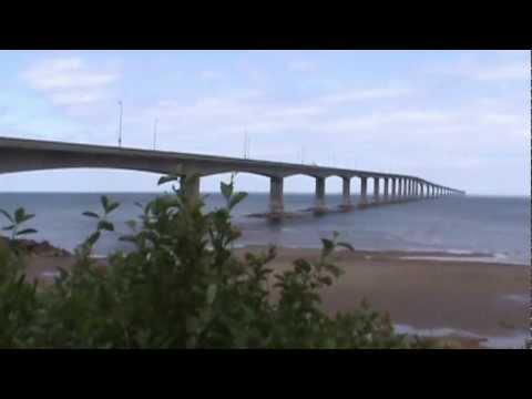 Confederation Bridge, Cape Jourimain, New Brunswick side
