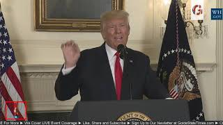BREAKING: President Donald Trump Updates and Responds to the Events in Charlottesville Virginia