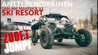 CAN-AM MAVERICK X3 - SKI RESORT (200FT JUMP) - ANTTI PENDIKAINEN