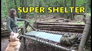 Super Shelter Woods Camp